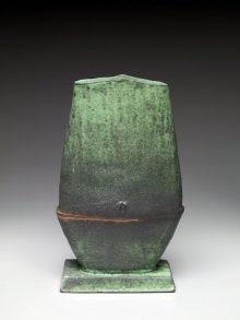 Green Figure Vase
