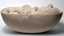 Perforated Vessel Series No. 4, 2010 10h x 28.25L x 15w