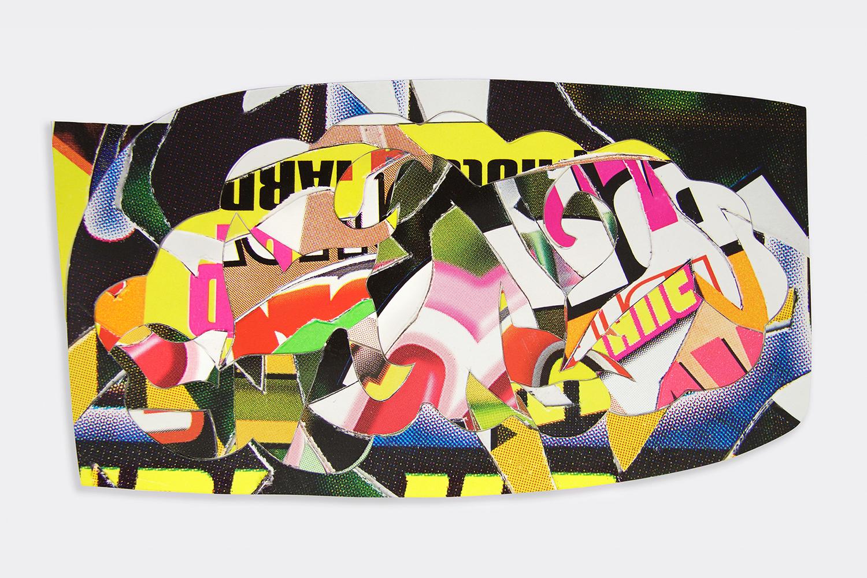Robert Brinker, Cloud Collage #11 Study