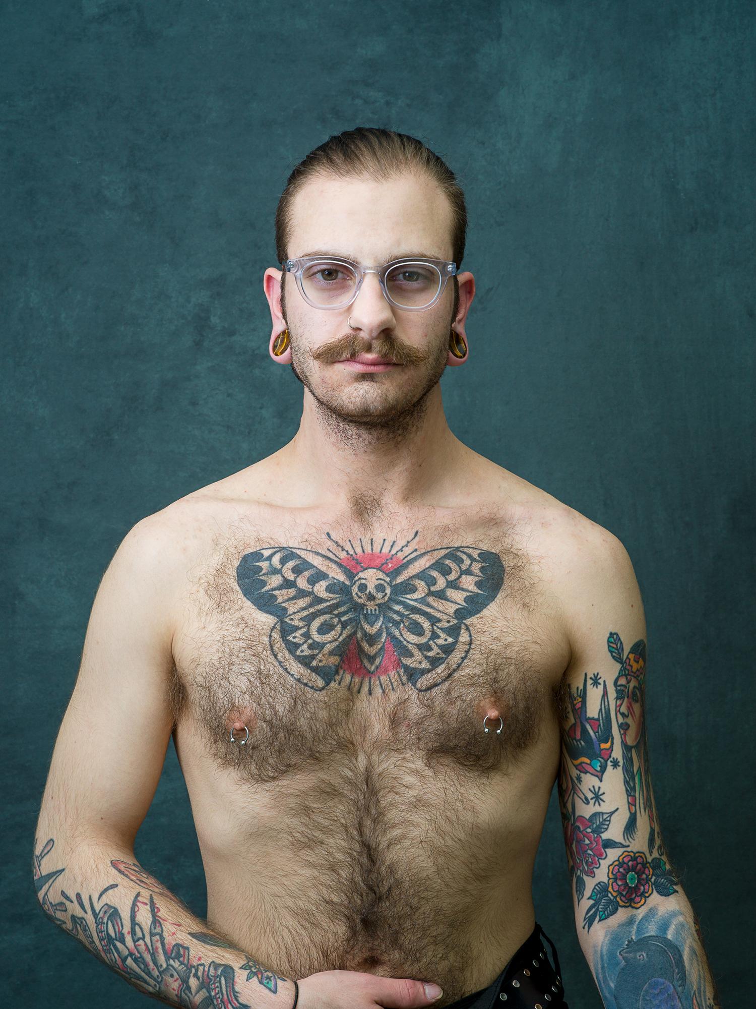 Intimate Strangers, Richard at 24, Post Chemo