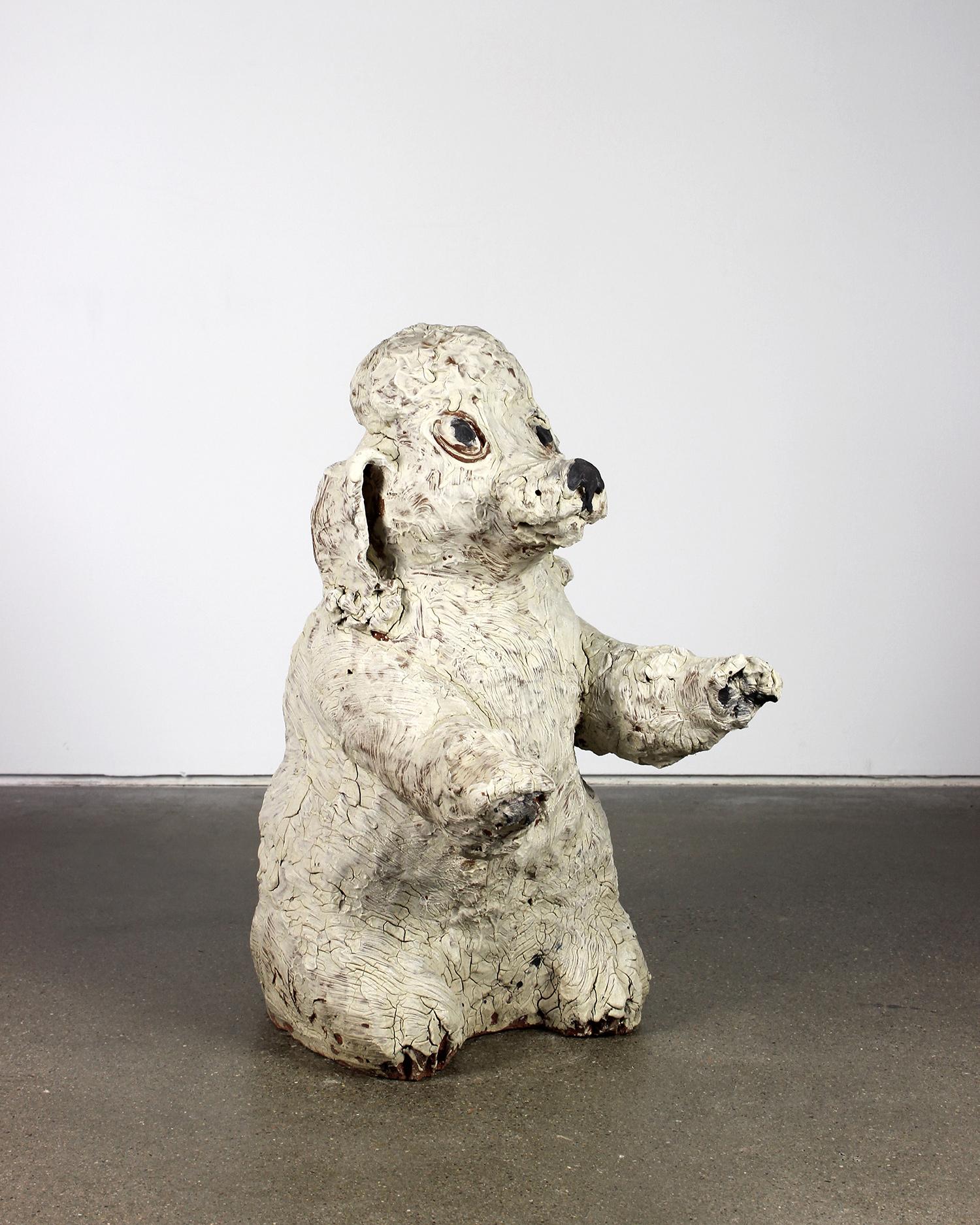 Kirk Mangus, Juneau (White Poodle), 1986