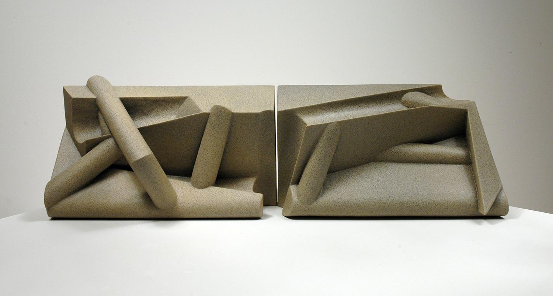 Frieze Series II: Limestone, Panels 3 and 4, 2010