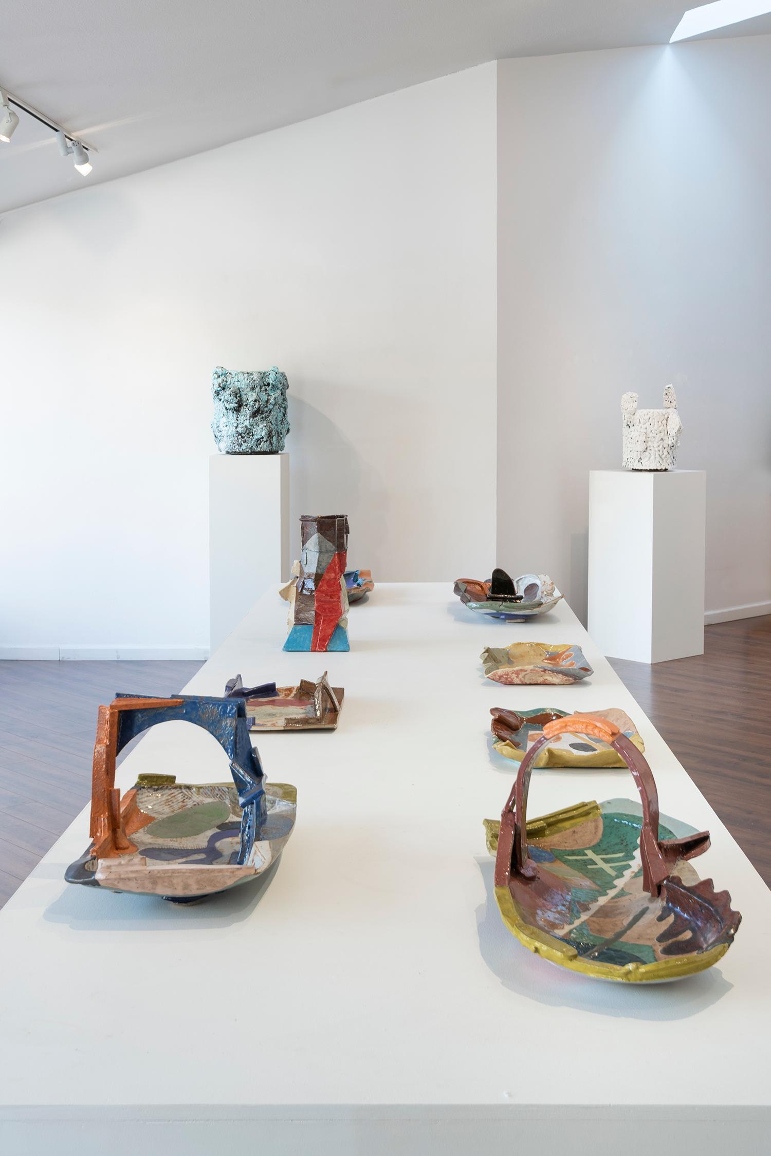 Installation view (John Gill, Tony Marsh)