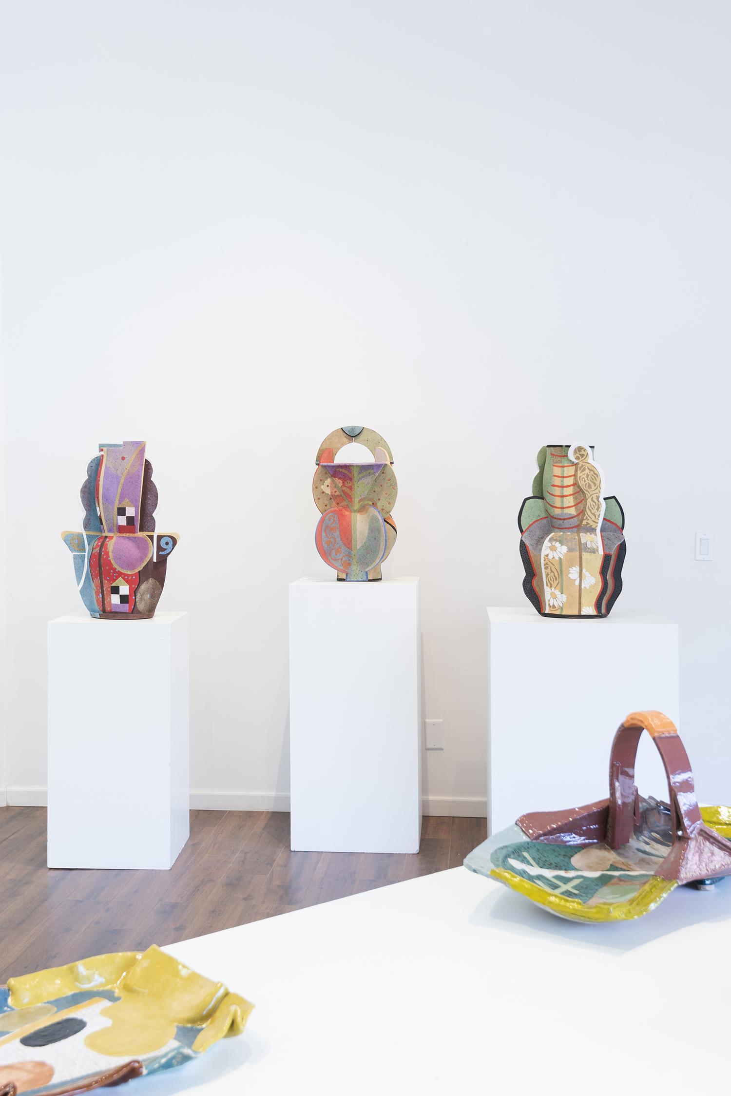 Installation view (Andrea Gill, John Gill)