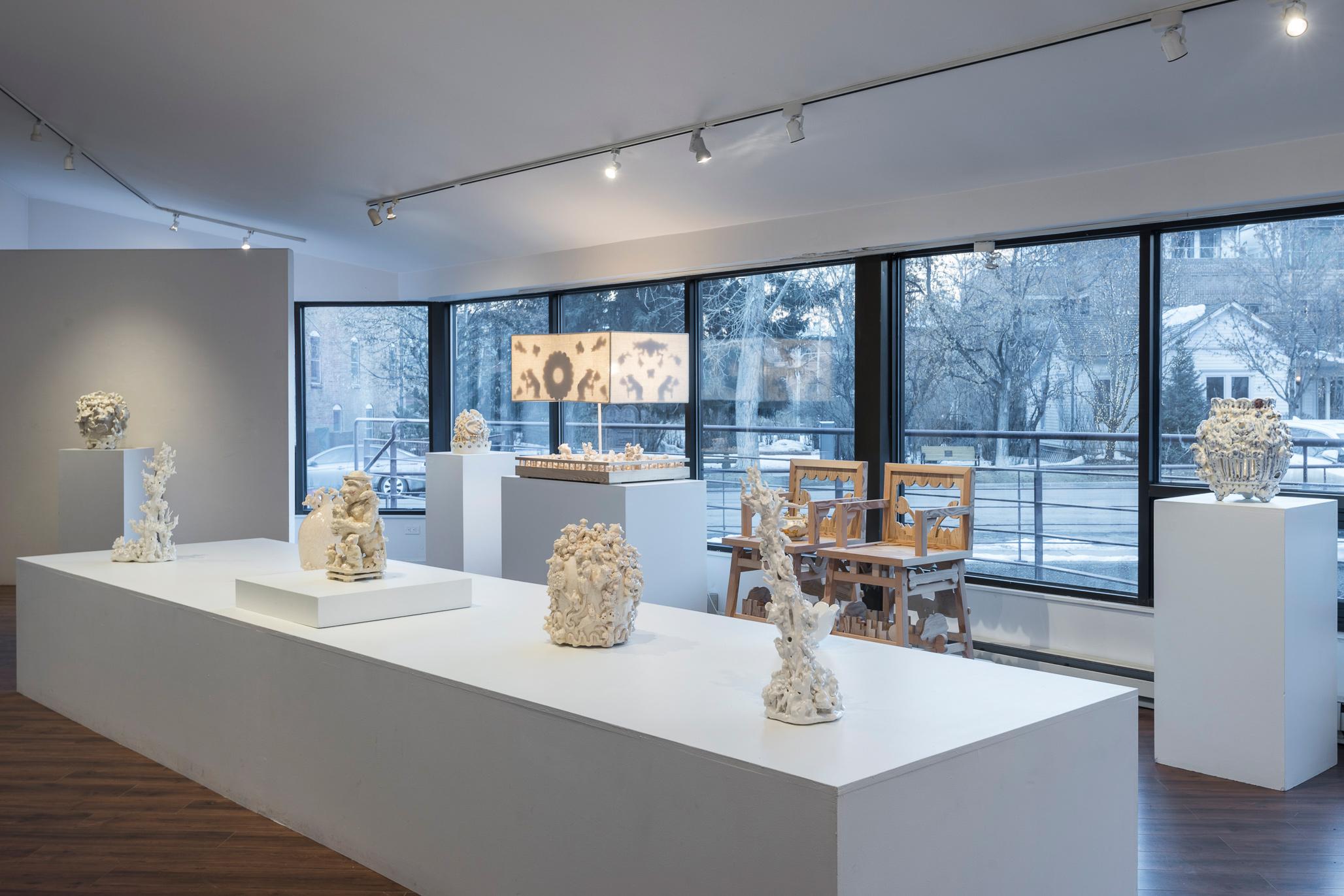 Installation view (Jeffry Mitchell)