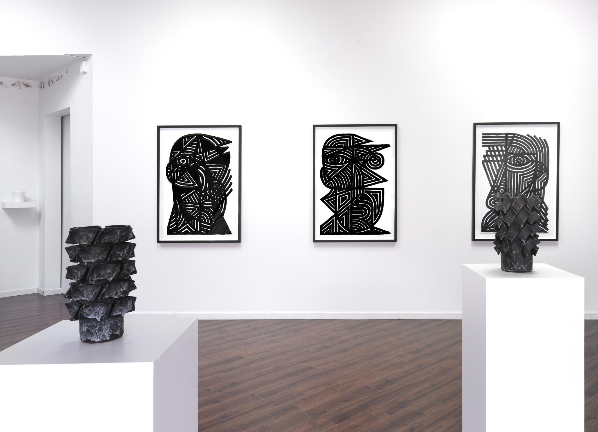 Installation view (Pablo Martin, Ben Medansky)