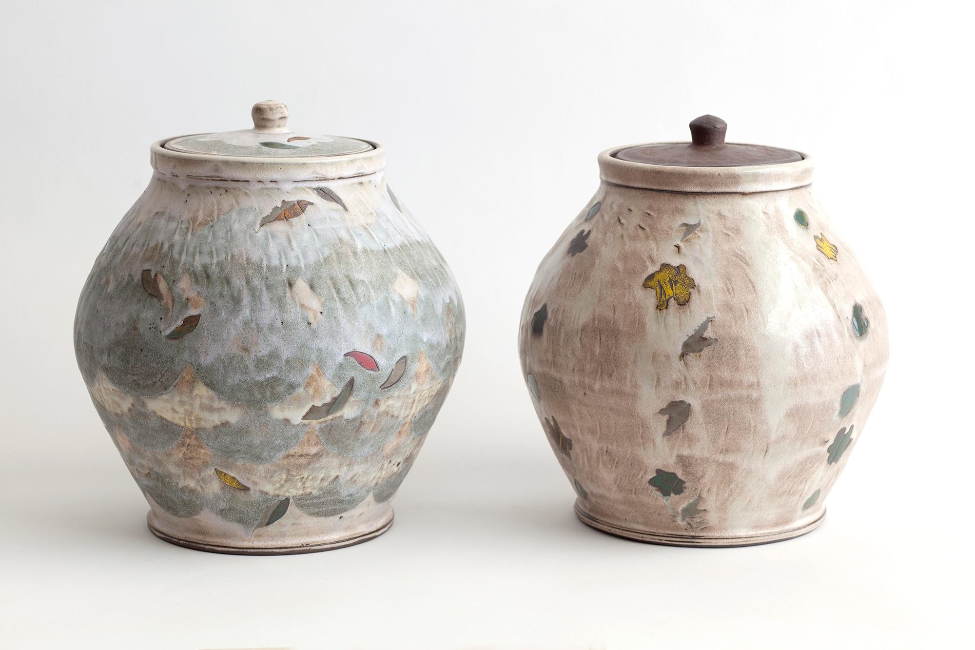 Sanam Emami, Storage Jar 1 and 2, 2021