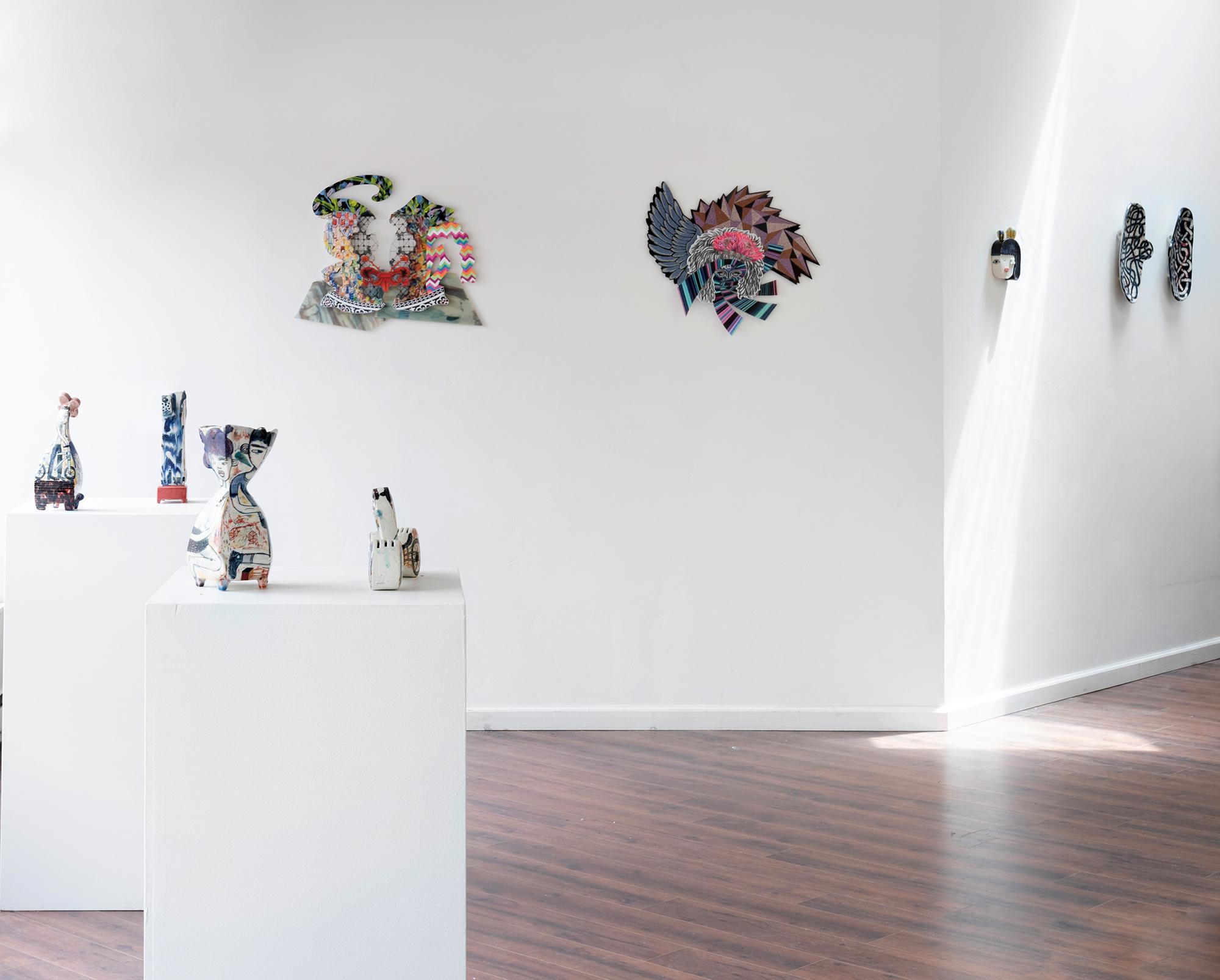 Installation view (Pamela Joseph, Kevin Snipes)